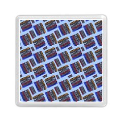 Abstract Pattern Seamless Artwork Memory Card Reader (Square)