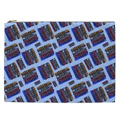 Abstract Pattern Seamless Artwork Cosmetic Bag (XXL)