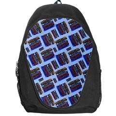 Abstract Pattern Seamless Artwork Backpack Bag