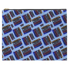 Abstract Pattern Seamless Artwork Cosmetic Bag (XXXL)