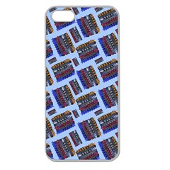 Abstract Pattern Seamless Artwork Apple Seamless iPhone 5 Case (Clear)