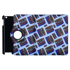 Abstract Pattern Seamless Artwork Apple iPad 2 Flip 360 Case