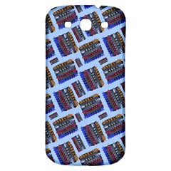 Abstract Pattern Seamless Artwork Samsung Galaxy S3 S III Classic Hardshell Back Case