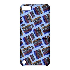 Abstract Pattern Seamless Artwork Apple iPod Touch 5 Hardshell Case with Stand