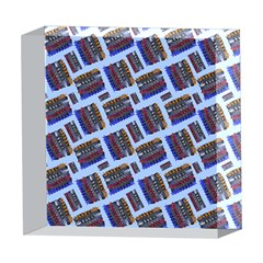 Abstract Pattern Seamless Artwork 5  x 5  Acrylic Photo Blocks