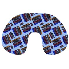 Abstract Pattern Seamless Artwork Travel Neck Pillows