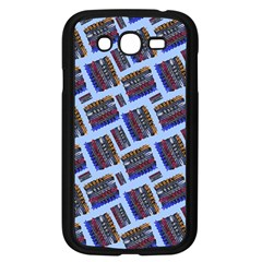 Abstract Pattern Seamless Artwork Samsung Galaxy Grand DUOS I9082 Case (Black)