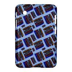 Abstract Pattern Seamless Artwork Samsung Galaxy Tab 2 (7 ) P3100 Hardshell Case