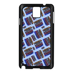 Abstract Pattern Seamless Artwork Samsung Galaxy Note 3 N9005 Case (Black)