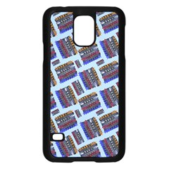 Abstract Pattern Seamless Artwork Samsung Galaxy S5 Case (Black)