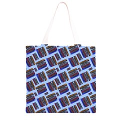 Abstract Pattern Seamless Artwork Grocery Light Tote Bag