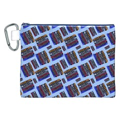 Abstract Pattern Seamless Artwork Canvas Cosmetic Bag (XXL)