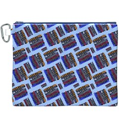 Abstract Pattern Seamless Artwork Canvas Cosmetic Bag (XXXL)
