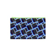 Abstract Pattern Seamless Artwork Cosmetic Bag (XS)