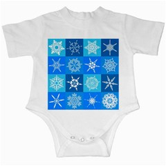 Background Blue Decoration Infant Creepers