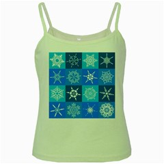 Background Blue Decoration Green Spaghetti Tank
