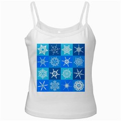 Background Blue Decoration Ladies Camisoles