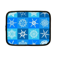 Background Blue Decoration Netbook Case (Small)