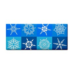 Background Blue Decoration Cosmetic Storage Cases