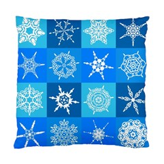 Background Blue Decoration Standard Cushion Case (Two Sides)