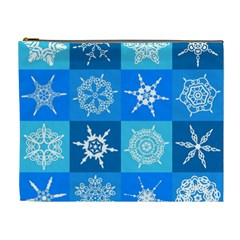 Background Blue Decoration Cosmetic Bag (XL)