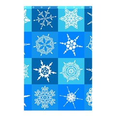 Background Blue Decoration Shower Curtain 48  x 72  (Small)