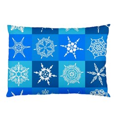 Background Blue Decoration Pillow Case (Two Sides)