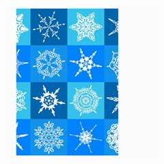 Background Blue Decoration Small Garden Flag (Two Sides)