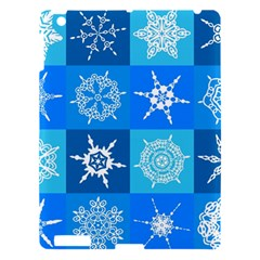 Background Blue Decoration Apple iPad 3/4 Hardshell Case