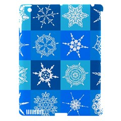 Background Blue Decoration Apple iPad 3/4 Hardshell Case (Compatible with Smart Cover)