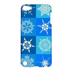 Background Blue Decoration Apple iPod Touch 5 Hardshell Case