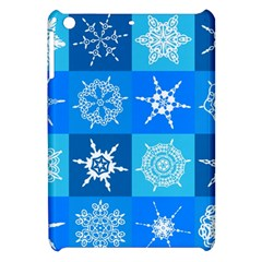 Background Blue Decoration Apple iPad Mini Hardshell Case
