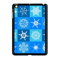 Background Blue Decoration Apple iPad Mini Case (Black)