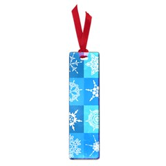 Background Blue Decoration Small Book Marks