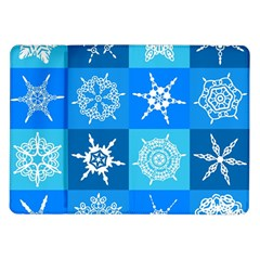 Background Blue Decoration Samsung Galaxy Tab 10.1  P7500 Flip Case