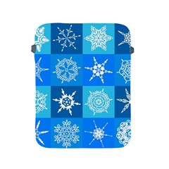 Background Blue Decoration Apple iPad 2/3/4 Protective Soft Cases