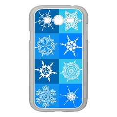 Background Blue Decoration Samsung Galaxy Grand DUOS I9082 Case (White)