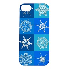 Background Blue Decoration Apple iPhone 5S/ SE Hardshell Case