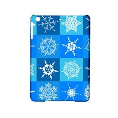 Background Blue Decoration iPad Mini 2 Hardshell Cases