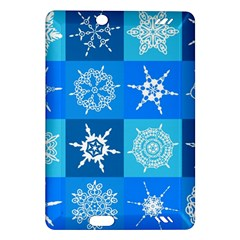 Background Blue Decoration Amazon Kindle Fire HD (2013) Hardshell Case