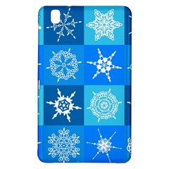 Background Blue Decoration Samsung Galaxy Tab Pro 8.4 Hardshell Case