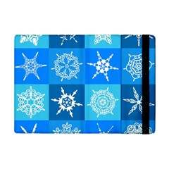 Background Blue Decoration iPad Mini 2 Flip Cases
