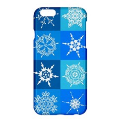 Background Blue Decoration Apple iPhone 6 Plus/6S Plus Hardshell Case