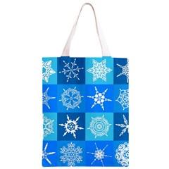 Background Blue Decoration Classic Light Tote Bag