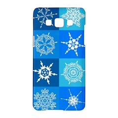 Background Blue Decoration Samsung Galaxy A5 Hardshell Case