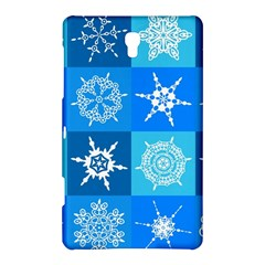 Background Blue Decoration Samsung Galaxy Tab S (8.4 ) Hardshell Case