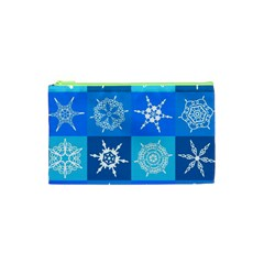 Background Blue Decoration Cosmetic Bag (XS)