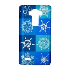 Background Blue Decoration LG G4 Hardshell Case