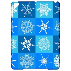 Background Blue Decoration Apple iPad Pro 9.7   Hardshell Case