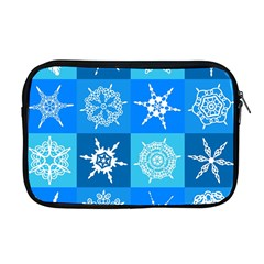 Background Blue Decoration Apple MacBook Pro 17  Zipper Case